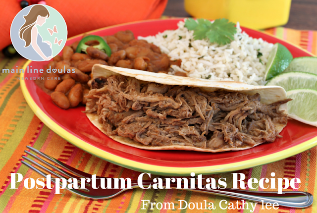 newborn doula newborn care carnitas recipe