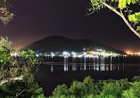 Pic of Tatana island at night