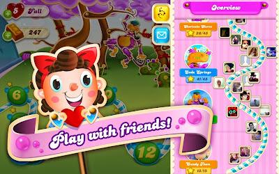 Cara mudah main Candy Crush Soda Saga di Android