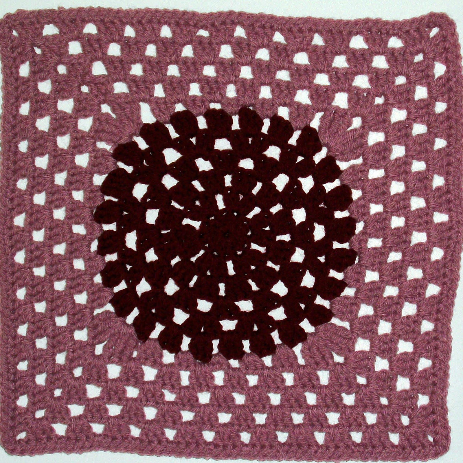 Crochet Stitches To Inches : MoCrochet - Melinda Miller Designs: Crazy Granny Square