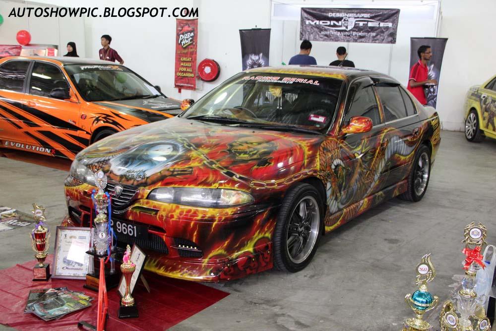 Proton Perdana Airbrush Autoshow