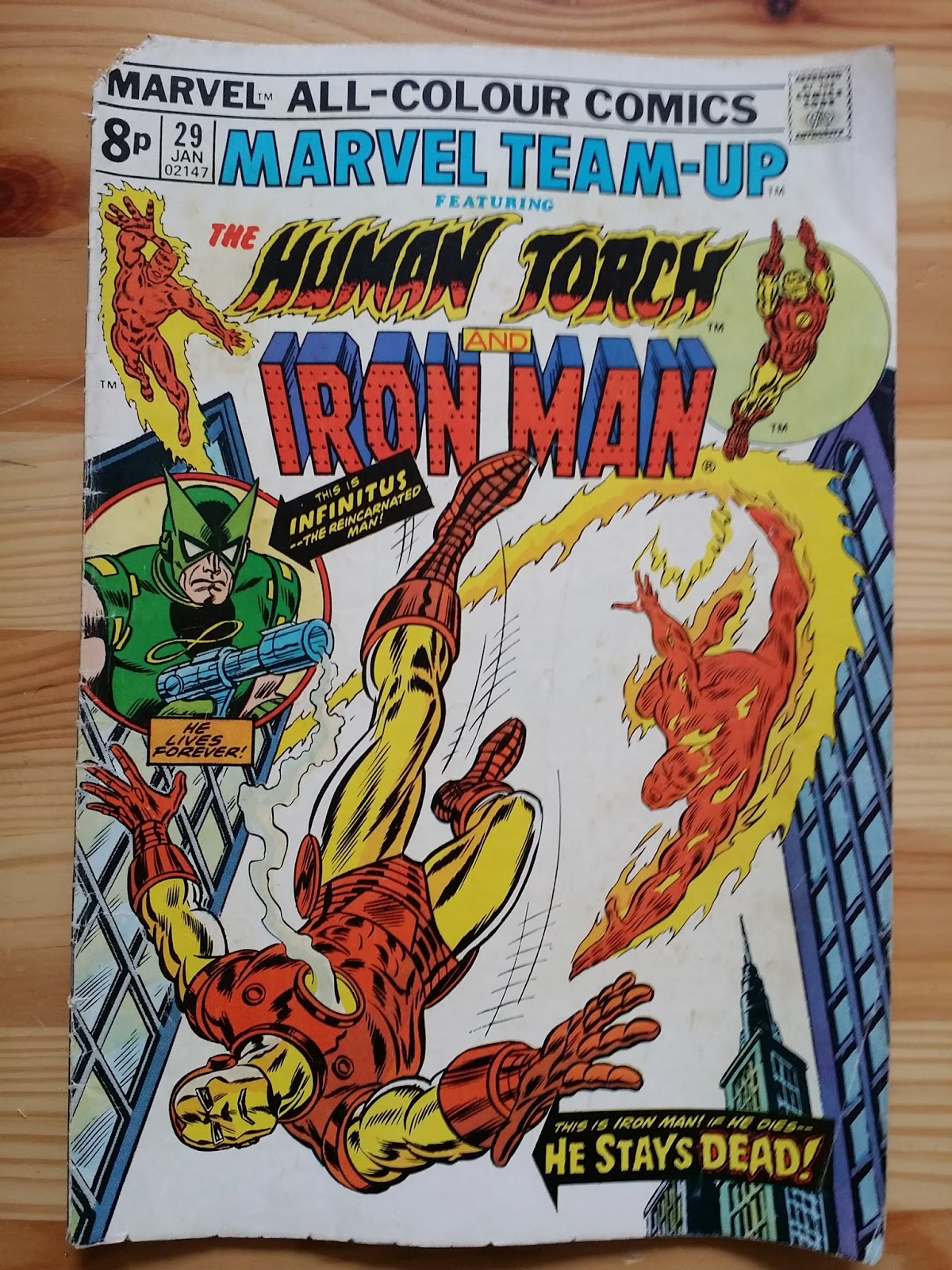 Marvel Team-Up  Human Torch and Iron Man