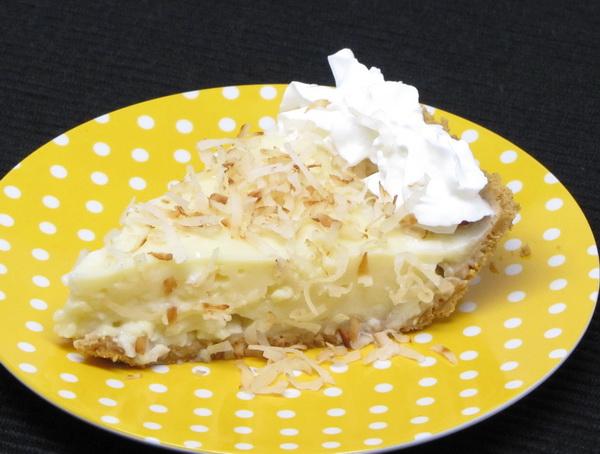 Coconut Custard Pie Recipe ~ Easy Dessert Recipes
