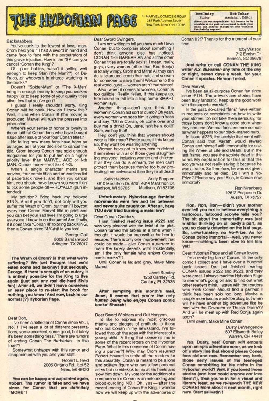 Conan the Barbarian (1970) Issue #227 #239 - English 24