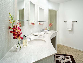 Remodel Bathroom Floral Ideasfive remodeling photo