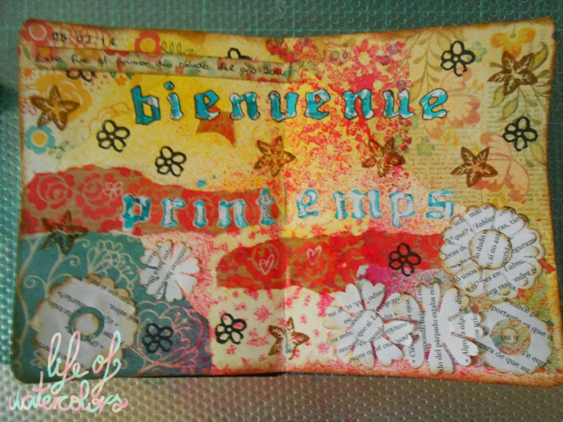 mixed media art journal