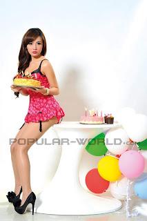 hot Cinta Nansya for Popular World Magazine, May 2012 (Part 1)