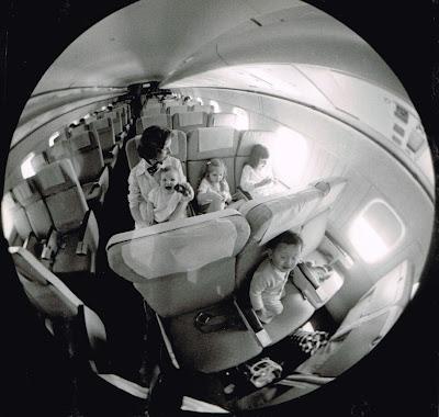 flying in 1971