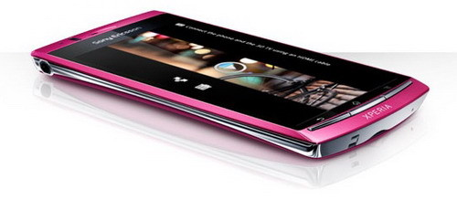 Sony Ericsson Xperia Arc S Android smartphone official