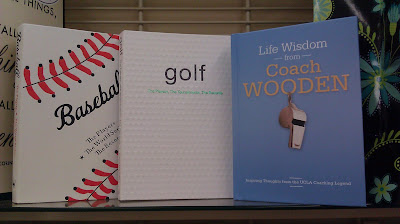 Hallmark's sports-themed gift books on baseball, golf and words of wisdom from UCLA basketball coach John Wooden