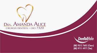 Dra. AMANDA ALICE