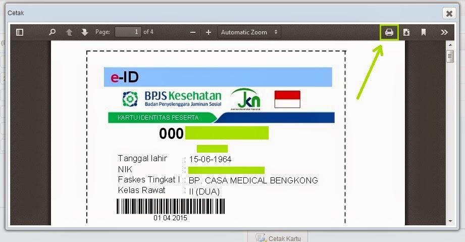 Cara Mencetak Kartu BPJS Kesehatan Melalui Aplikasi Kepesertaan BPJS