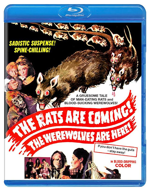 The Rats Are Coming! The Werewolves Are Here Blu-ray