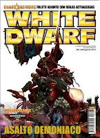 Portada de la White Dwarf 208