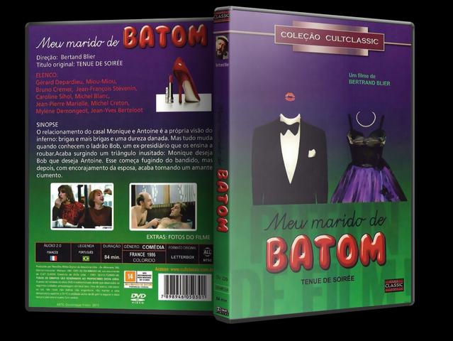 Capa DVD Meu Marido De Batom