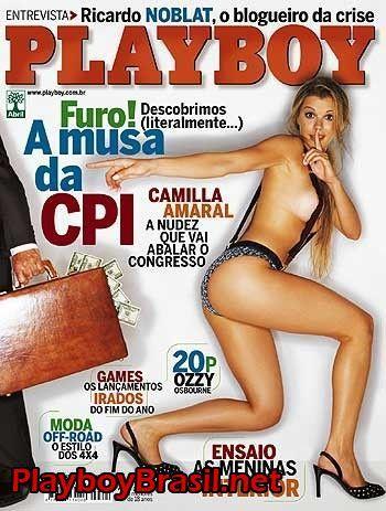 Camilla Amaral, Musa da CPI nua