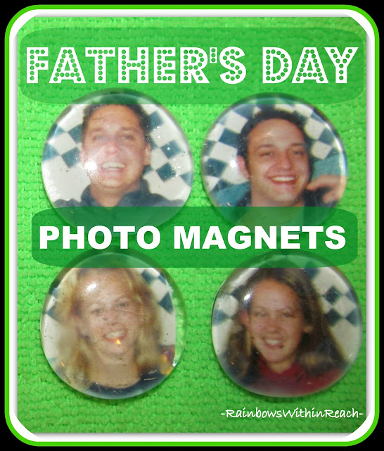 photo of: Simple Craft for Father's Day: Photo Magnets