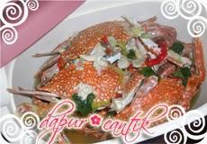 Gambar Masakan Kepiting Rebus Dapur Cantik