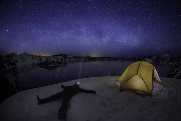 Star Gazing at Crater Lake