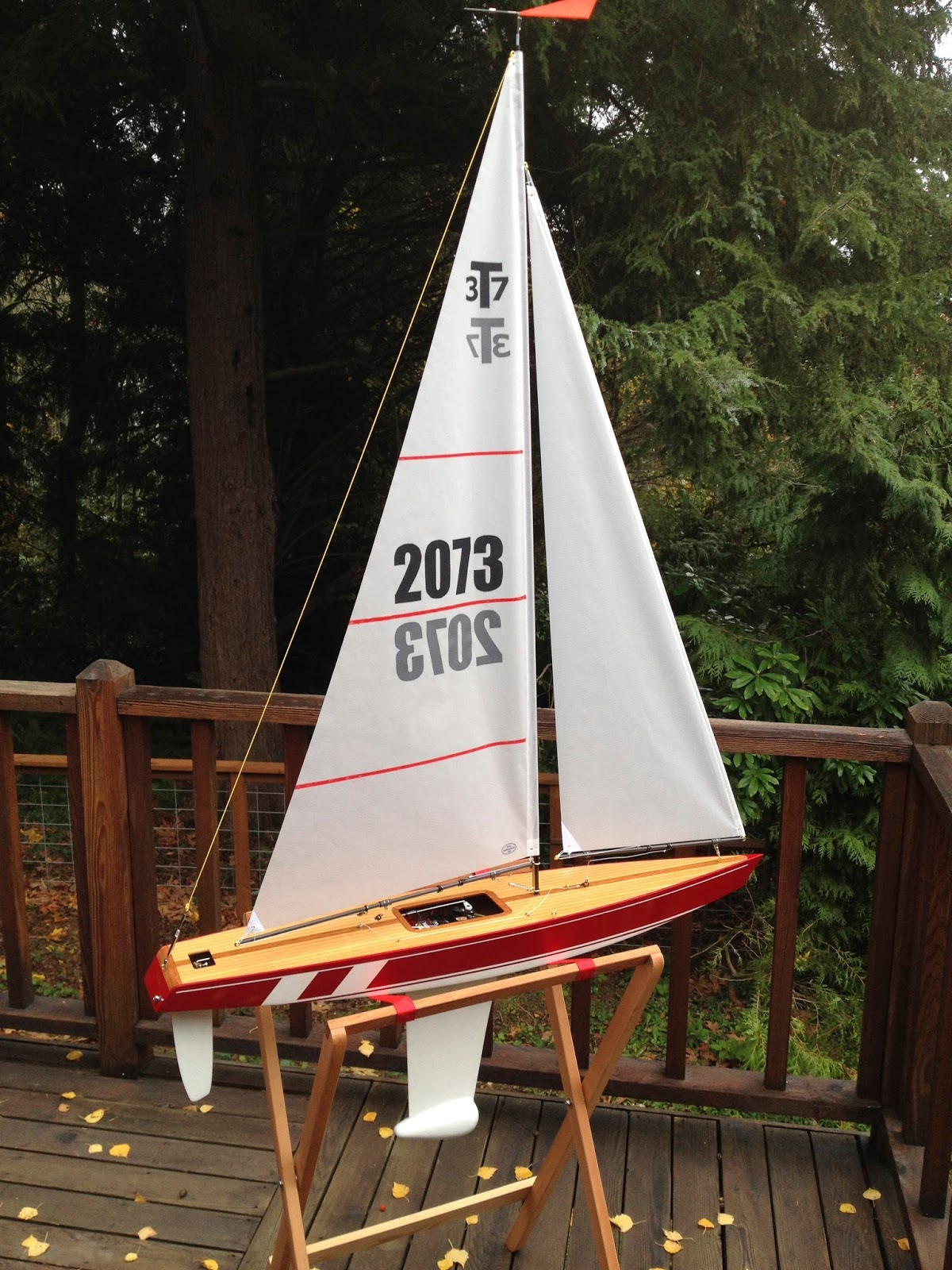 T37 RC Sailboat for Sale (and SAIL)!