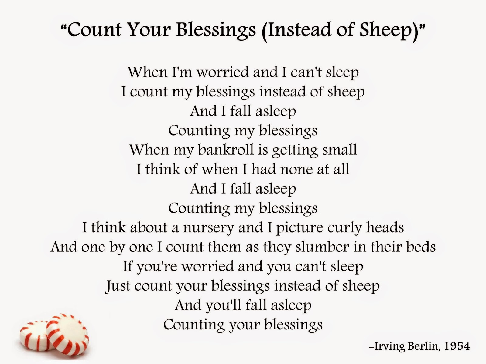 why i count my blessings essay Happiness and stress are mutually exclusive the two just can't stay together  one has to exit to make way for the other and, what is happiness.