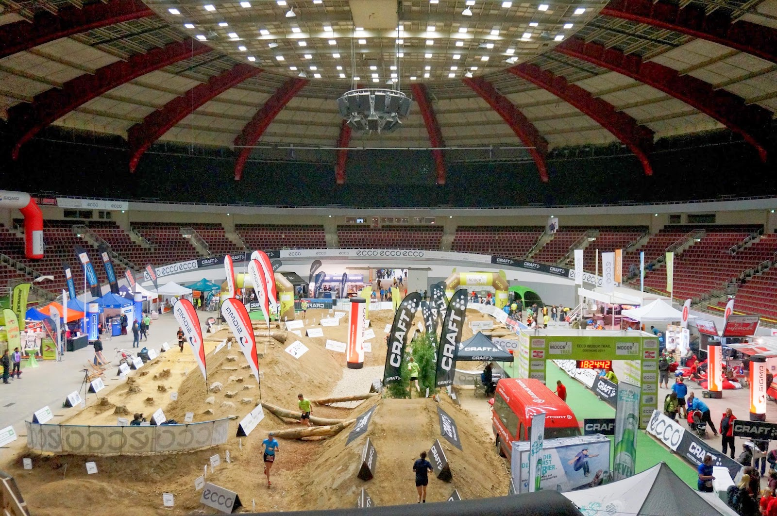 In Pictures: ECCO Indoor Trail, Dortmund, Germany