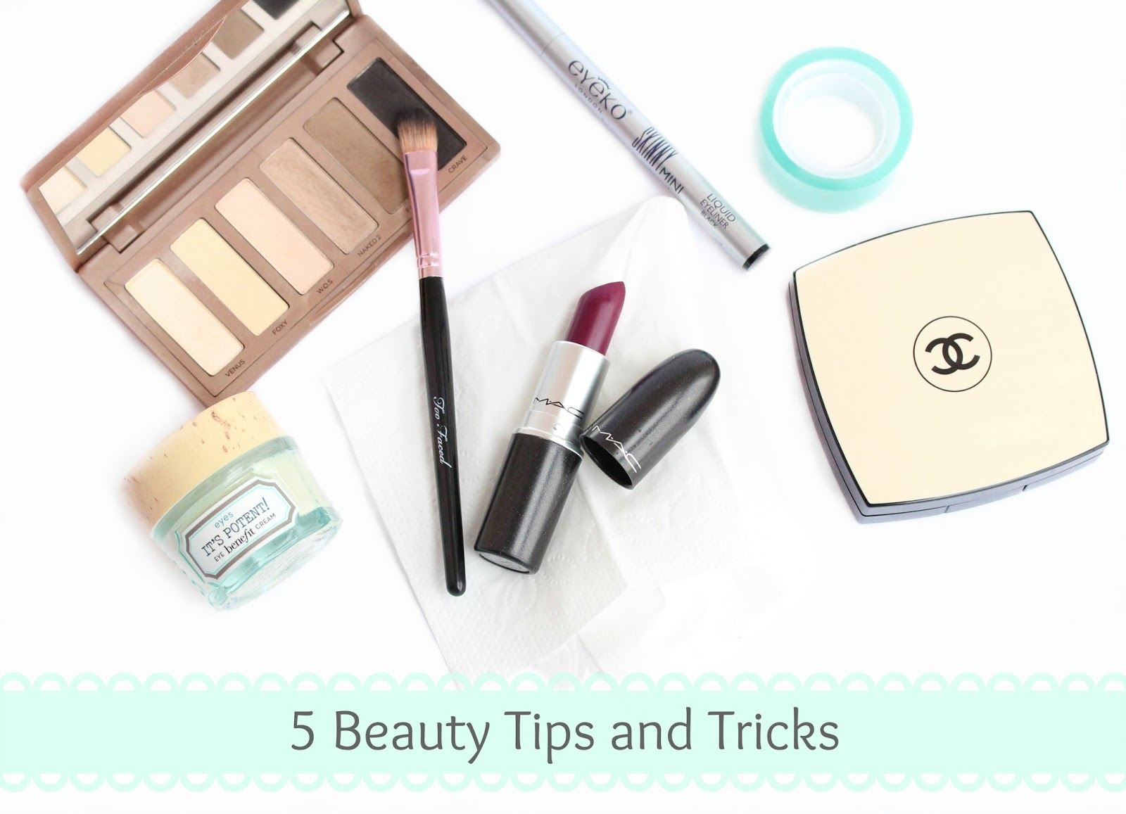 Five Beauty Tips and Tricks To Remember