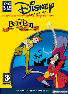 Peter pan adventures in neverland game online