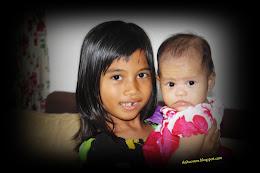 Akak & 4 months old Arra