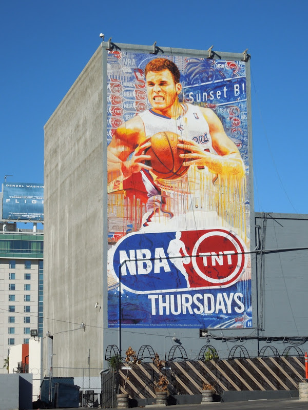 NBA basketball TNT Thursdays billboard