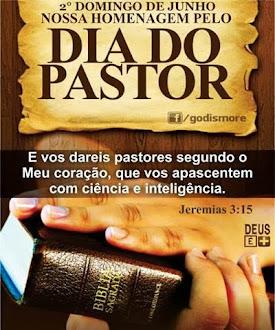 À todos os pastores compromissados com o Reino de Deus...Meus parabéns!!!!