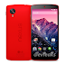 Red colour Google Nexus 5 official press image leaked, expected to launch on February 4th