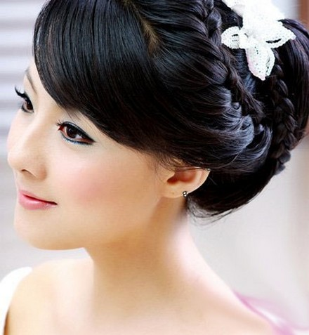 pretty wedding hairstyle 2013 designing creations new
