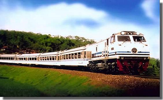 Kereta KAI Siap Melayani Pemudik