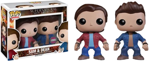 Funko Pop! Sam & Dean Supernatural Pack