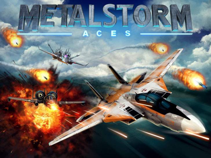 MetalStorm: Aces App iTunes App By Z2Live, Inc - FreeApps.ws