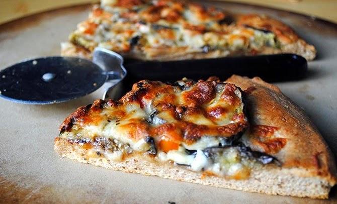 Kolay Patlıcanlı Pizza Tarifi