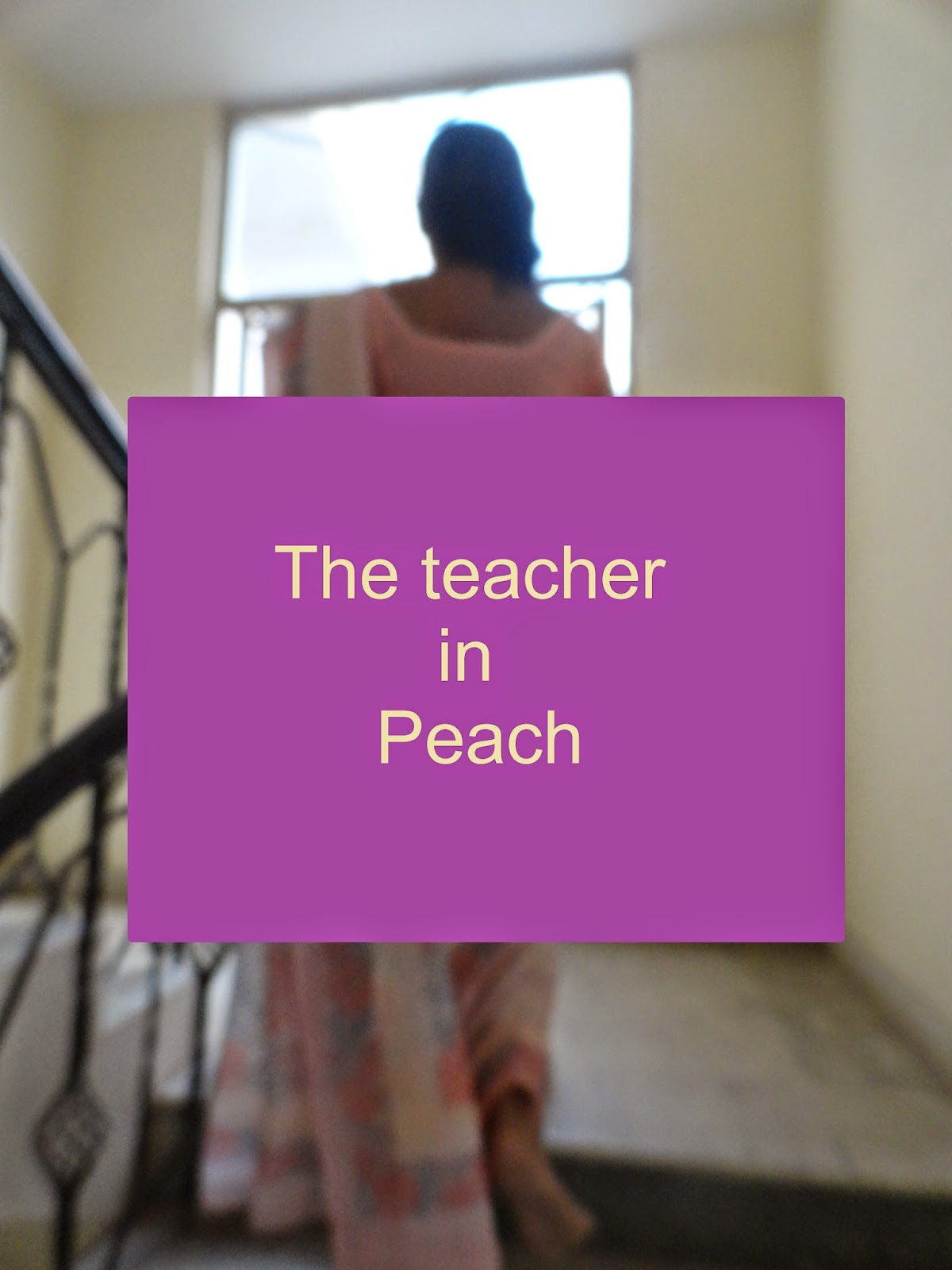OOTD: Teach in Peach image