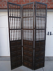 solid wood antique room divider...SOLD