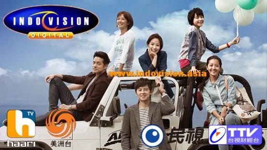 Harga paket tambahan Indovision khusus Oriental.