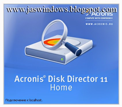 Acronis Disk Director 11 Home.
