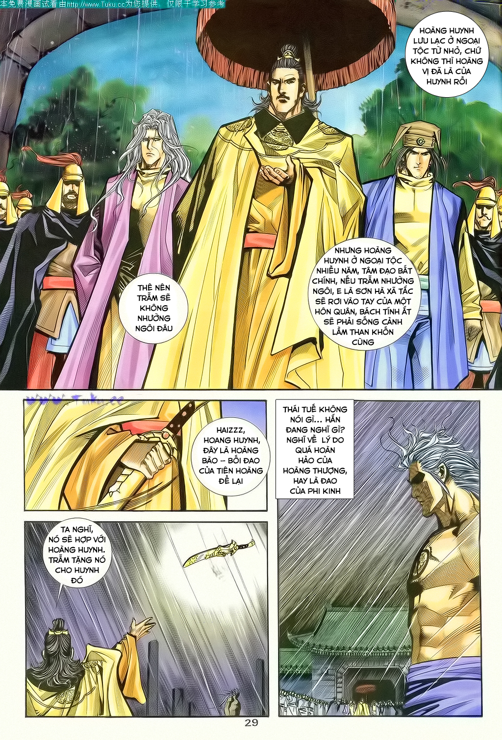 xem truyen moi - Bá Đao - Chapter 130