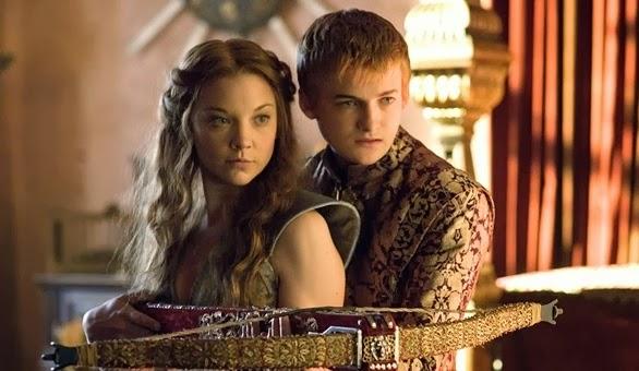 Joffrey y Margaery boda purpura