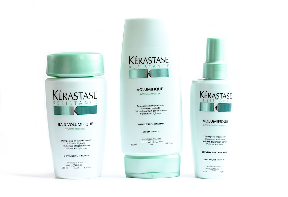 kerastase gamme volumifique shampooing après-shampooing spray avis test