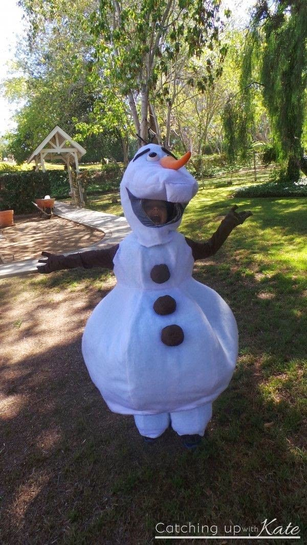 kids olaf halloween costumes 2014