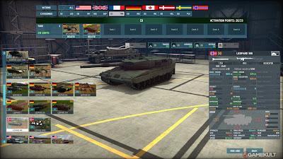 Wargame AirLand Battle Gameplay