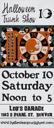 Join me at Denver's 10th Annual Halloween Trunk Show!
