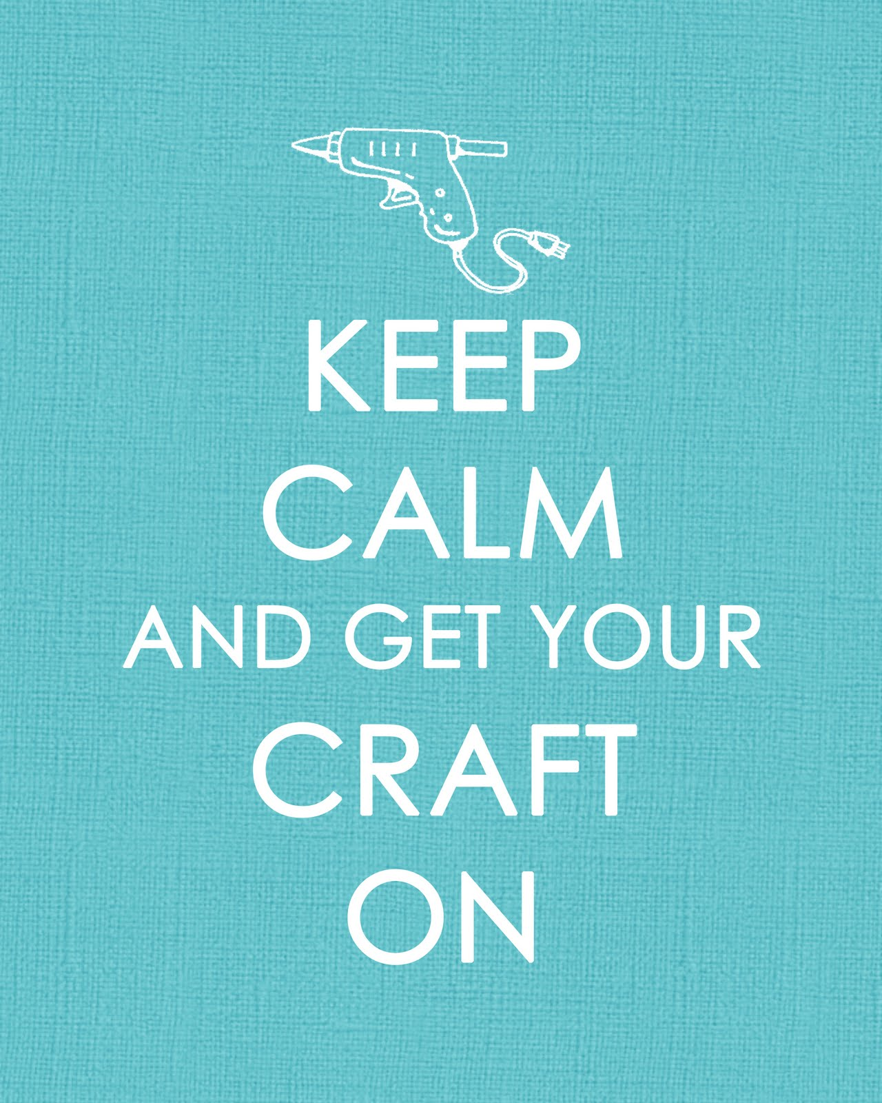 funky polkadot giraffe keep calm and get your craft on