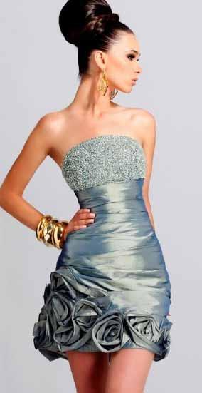 abendkleider kurz - Party Kleider modernen 2012/2013