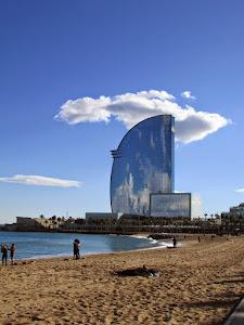 Recuerdo de La Barceloneta